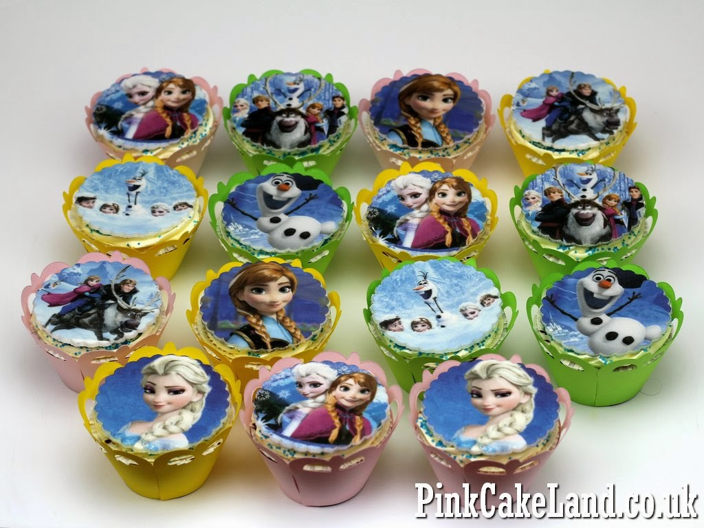 Frozen Birthday Cupcakes, London