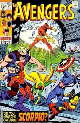 The Avengers #72, Scorpio