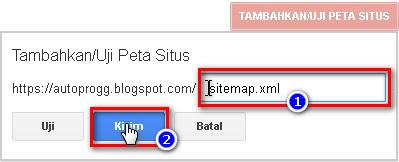 cara daftar dan verifikasi blog di google webmaster tool