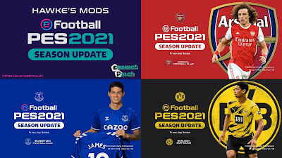 PES 2021 Graphic Menu Mod by Hawke
