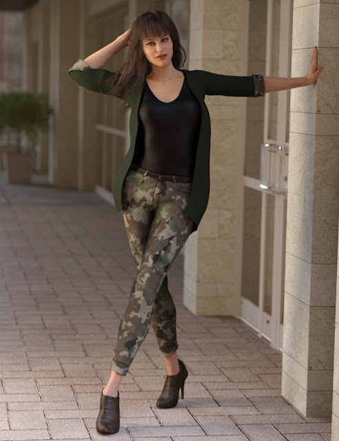 Urban Chic Outfit Textures