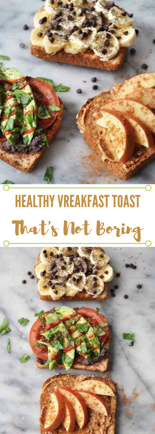 SIMPLE HEALTHY VEGAN BREAKFAST TOAST THAT ISN'T BORING #healthyrecipes #food #vegan #vegetarian #breakfast