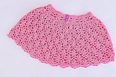 4 - Crochet Falda de flores a crochet y ganchillo muy fácil y rápida por MAJOVEL CROCHET