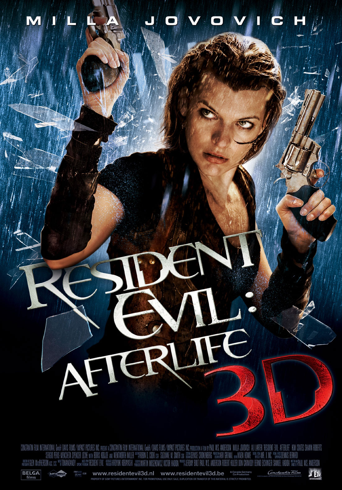 Film Thoughts Video Game Movie Month Resident Evil Afterlife 2010