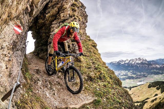 Die schönsten Bike Trails am Kitzbühler Horn BBS