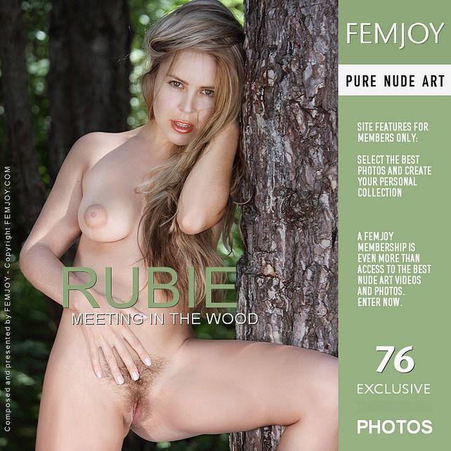 Femjoy1-27 Rubie - Meeting In The Wood 03060