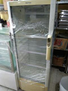 Display Cooler 1 Pintu Merk Polytron