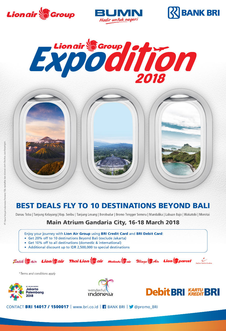 Lion Air Promo Indonesia Travel Updates Fw Lion Air Group Expodition 2018