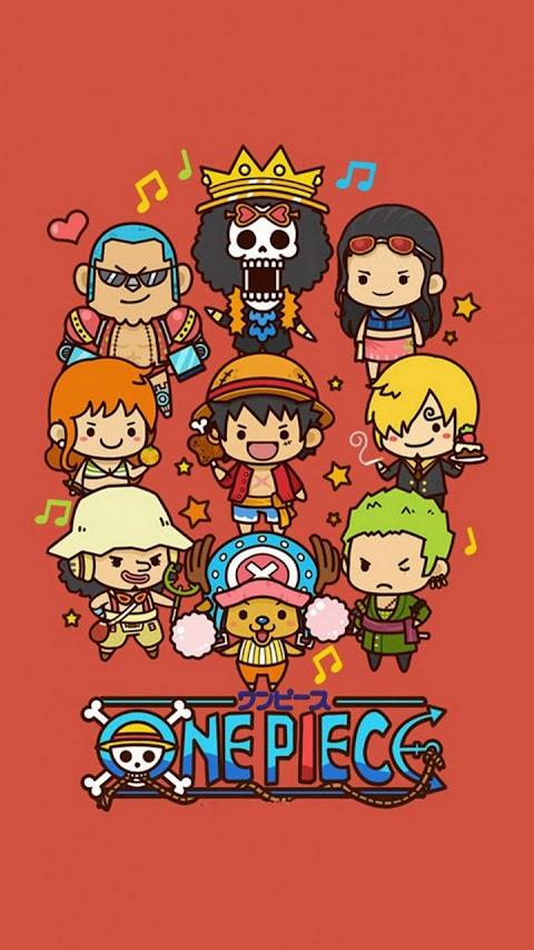 Hình Nền Đẹp Điện Thoại Biệt Đội One Piece
