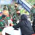 Hari Bakti Ke 74, TNI AU Wilayah Medan Donor Darah