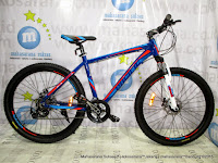 Sepeda Gunung Pacific Ascadia Aloi 21 Speed Branded Component Equipped 26 Inci
