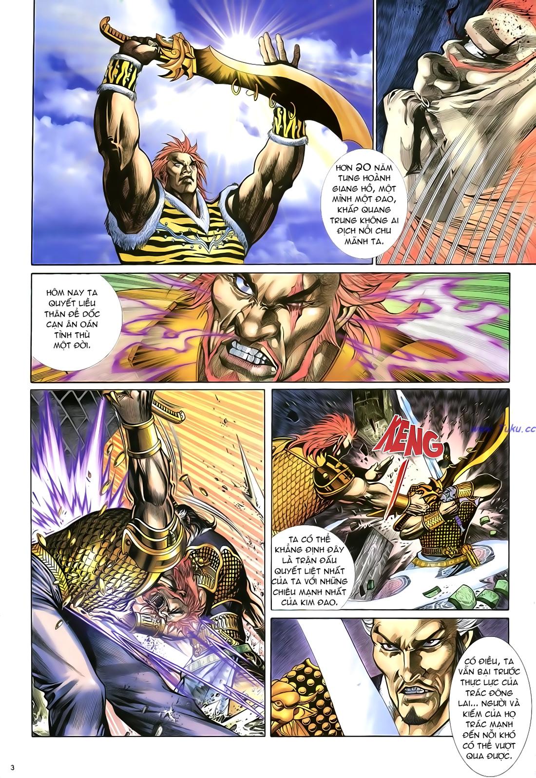 Anh hùng vô lệ Chap 23 trang 4