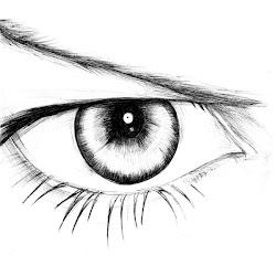eye drawing simple عين female template funny drawings المستهلك deviantart consumer paintingvalley