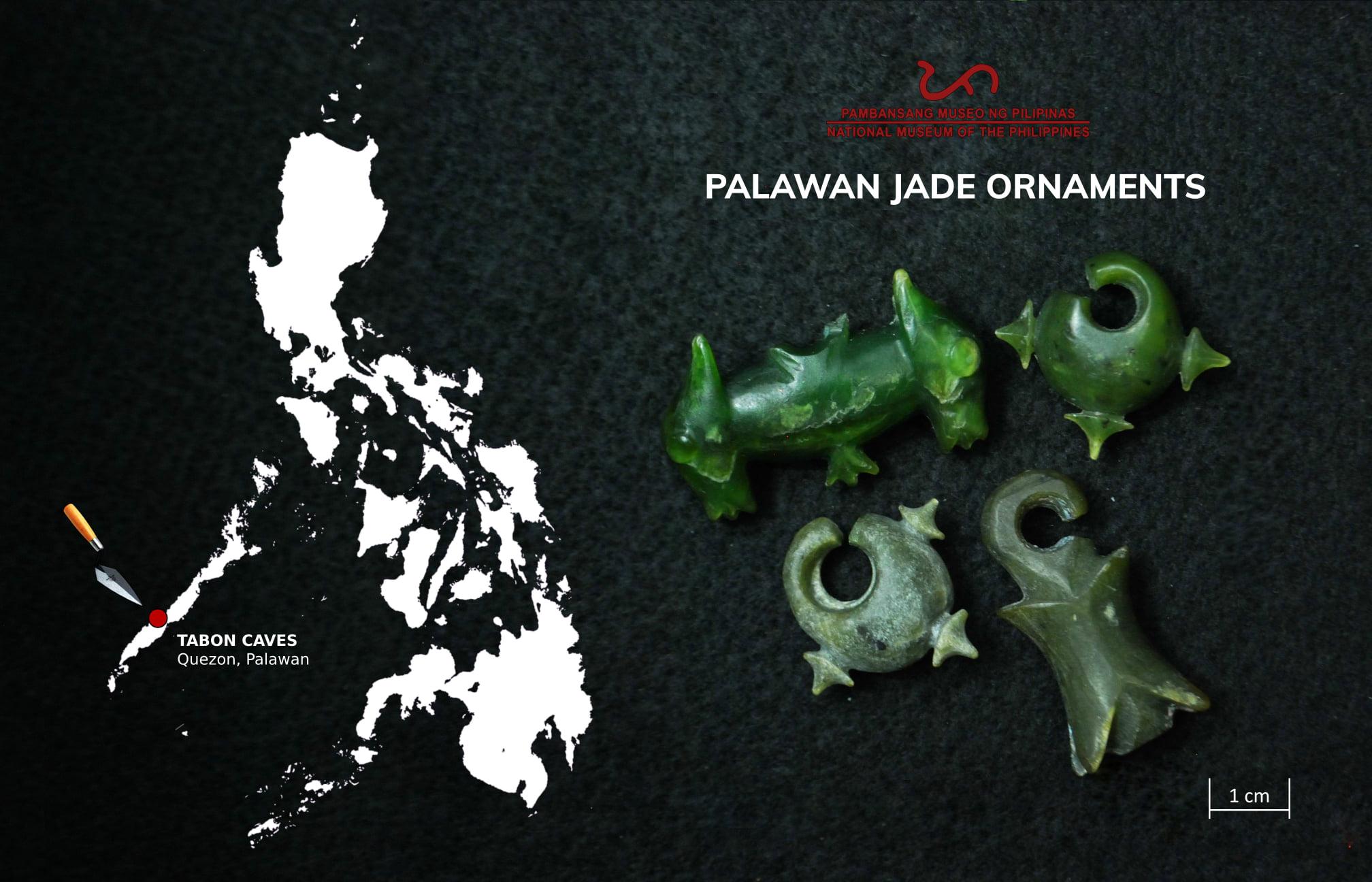 Precious Palawan Jade Ornaments Tabon Caves