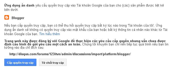 Tích hợp bình luận disqus vào trong blogspot blogger