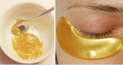 They Call It The Gold Mask Because It Helps To Eliminate Wrinkles