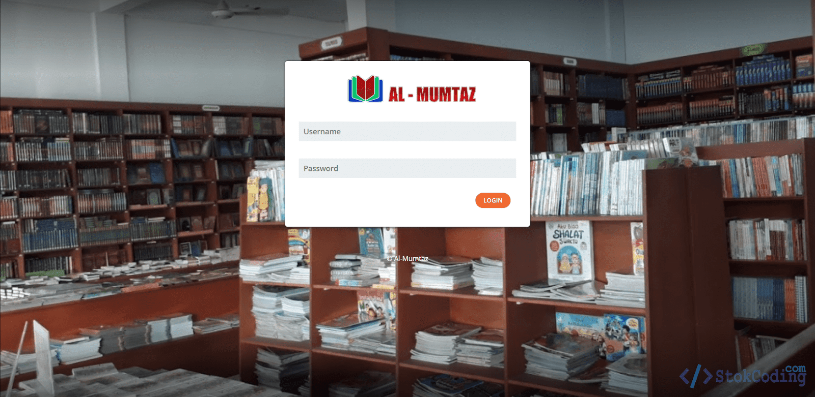 Sistem Aplikasi POS Penjualan Buku (Codeigniter)