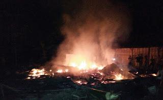 Buat Bediyang Tiga Rumah Warga Hangus Terbakar
