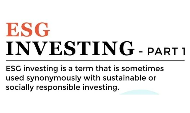 The ESG Investing Phenomenon