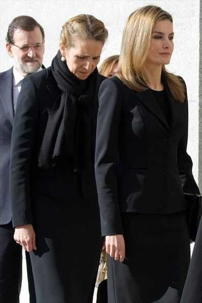 Spanish Royal Family attended the 10th anniversary Mass to pay homage to the victims of the Madrid train bombings at the Almudena Cathedral