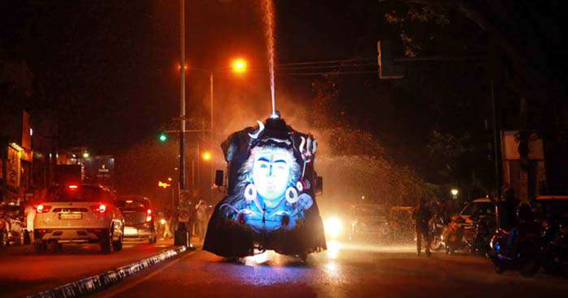 When the tens of thousands returned to Pongala, the capital city was clean by night Artificial rain to clean the city The glove full of Thiruvananthapuram,www.thekeralatimes.com
