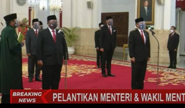 Sah, Presiden Lantik 6 Menteri dan 5 Wamen Baru
