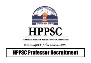 HPPSC Professor Recruitment 2020