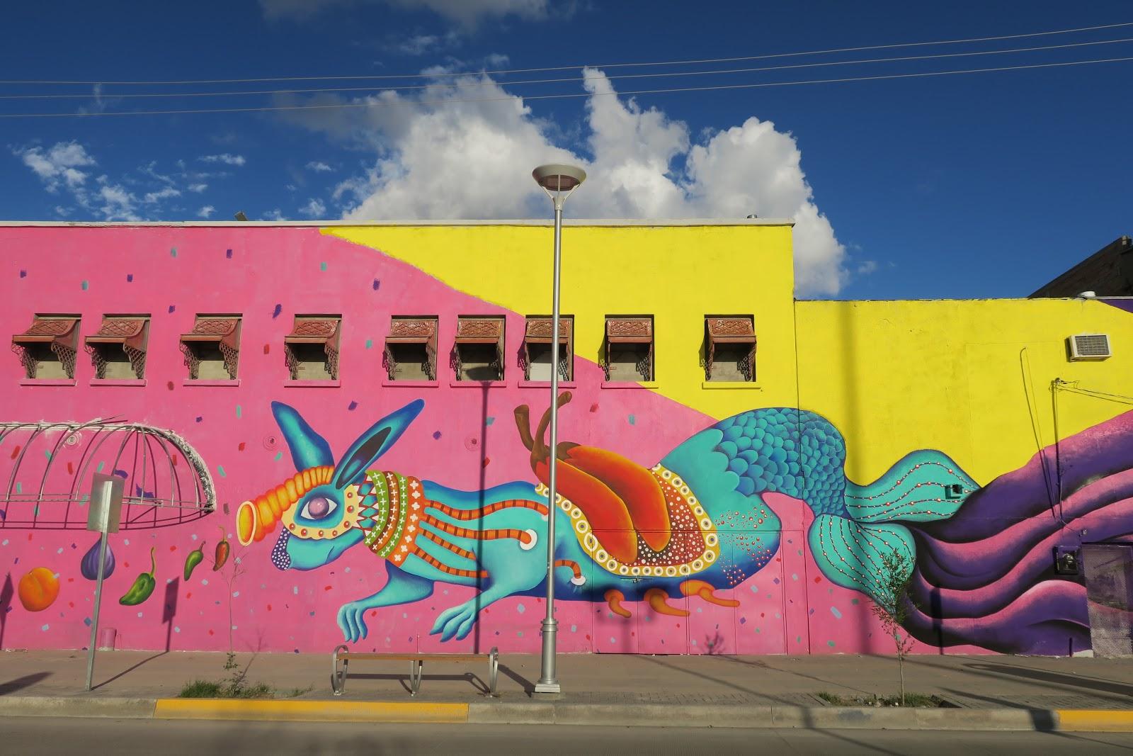 Living rootless for Benito juarez mural