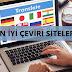 En İyi Yabancı Dil Çeviri Siteleri
