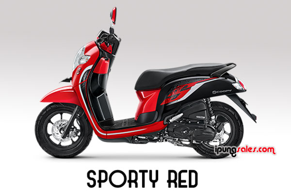 Honda-Scoopy-2019-sporty-red