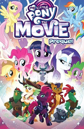 Fluttershy Wallpaper Fall Mlp Mlp The Movie Prequel Paperback Issue Amp 1 Comic