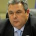 Καμμένος: Αν έρθει η συμφωνία των Πρεσπών στη Βουλή, θα αποσύρω την εμπιστοσύνη στην κυβέρνηση