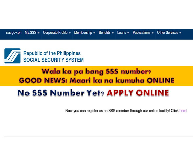 One of the most affordable pension and insurance system that we have in the Philippines is SSS. For as little as Php 110 monthly, you can be a member already. How to get SSS number online, how to apply for sss number online, how to be a member of sss