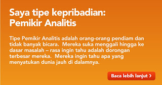 Keperibadian Pemikir Analitis by aapuji.com