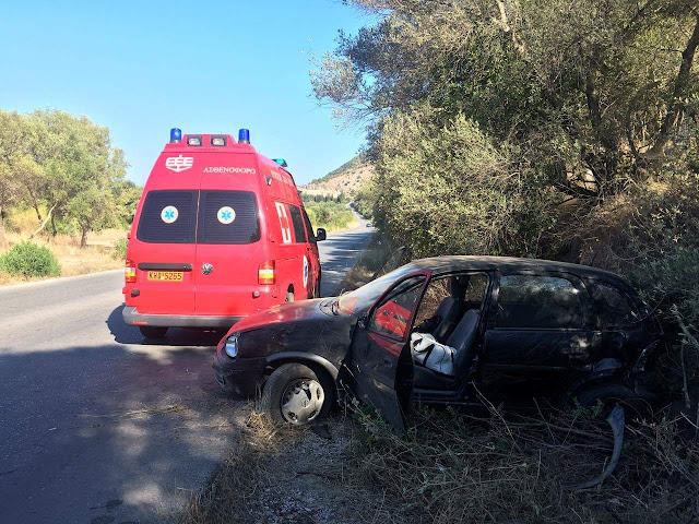 Ηγουμενίτσα: Τροχαίο ατύχημα στην Πλαταρια (+ΦΩΤΟ)