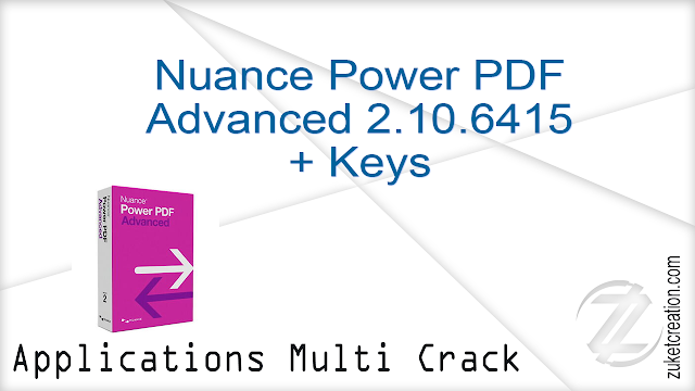 Nuance Power PDF Advanced 2.10.6415 + Keys