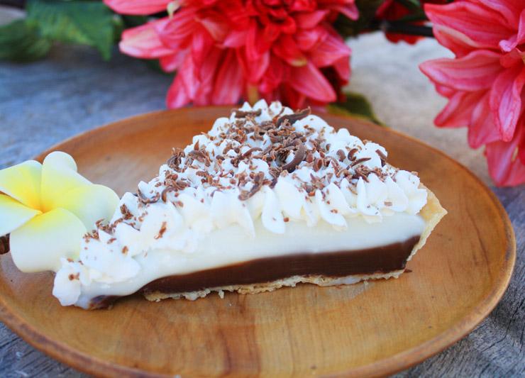 Chocolate Haupia Cake