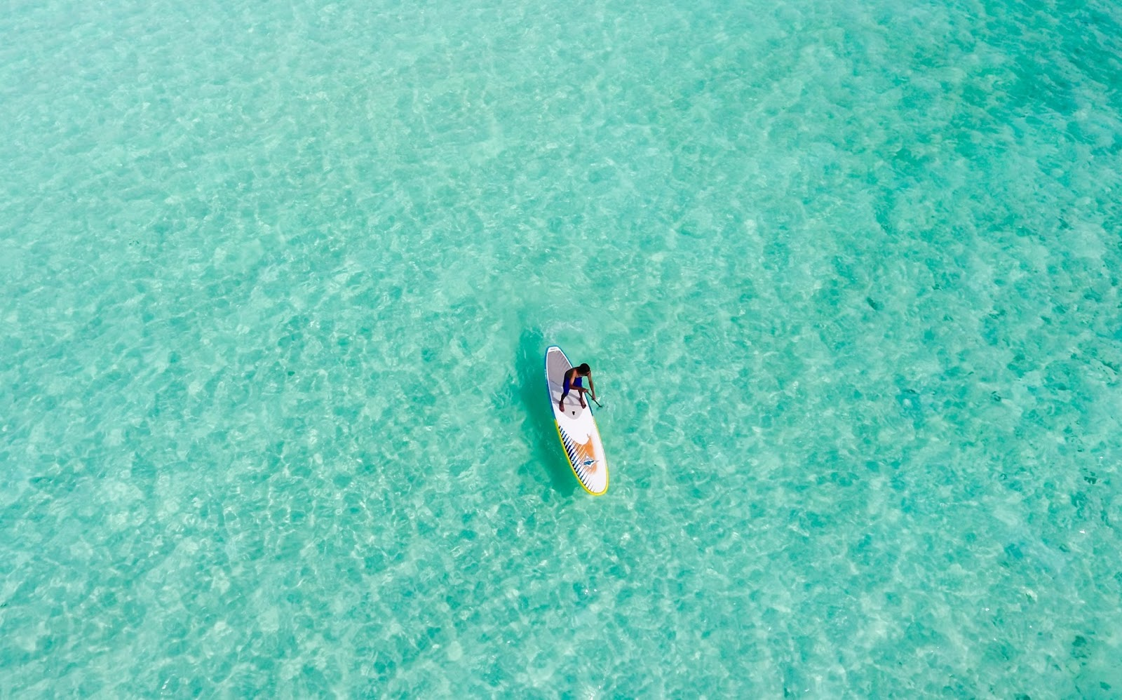 Stand up paddleboarding in Bali