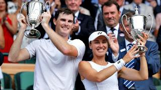 Spotlight : Victory of Martina Hingis and Andy Murray