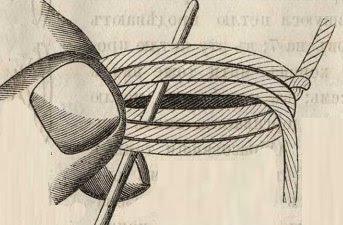 четвертое кольцо ручного плетения