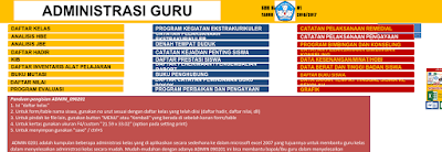 Aplikasi Administrasi Guru Kelas I,II,III,IV,V dan VI SD