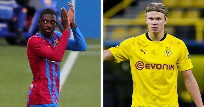 Dortmund interested in Dembele and Haaland swap deal next summer