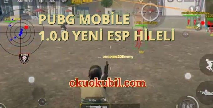 Pubg Mobile 1.0.0 Yeni Dsniper Menu ESP, Aimbot Hilesi İndir 2020 Androıd