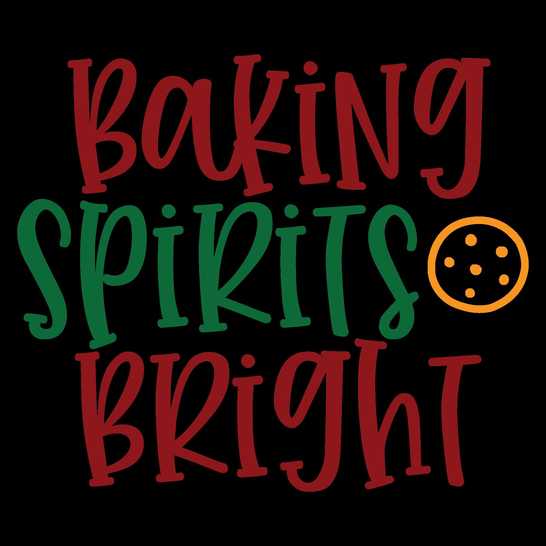 Baking Spirits Bright SVG Cut Files