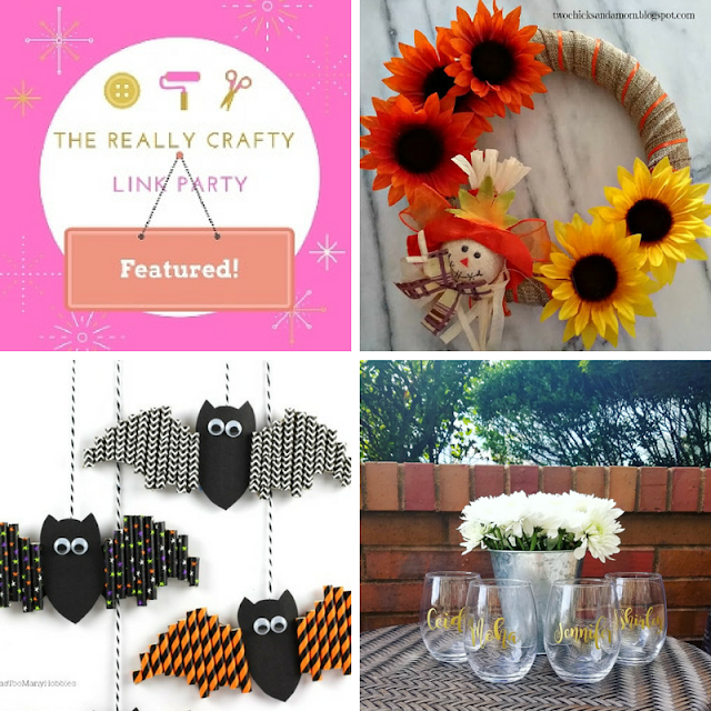 The Really Crafty Link Party #84 featured posts