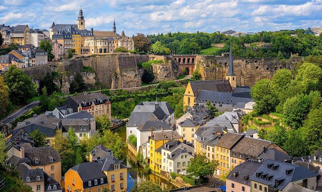 Luxemburgo corazon verde Europa