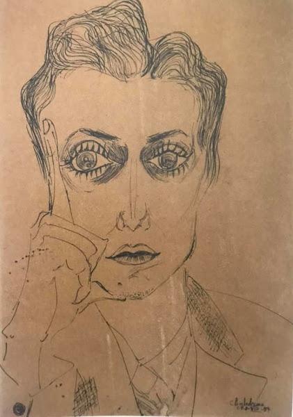 Retrato, Clara Ledesma, 1954