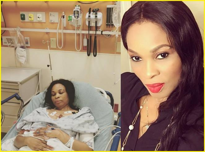 Nollywood veteran Actress Georgina Onuoha Hospitalized After Been Faced with Life Threatening Sickness (Photo) May God Completely Heal Her... Please pray for her by Typing Amen, Your Amen works