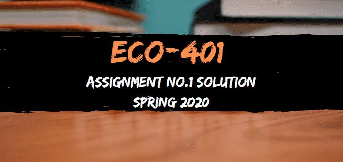 ECO401