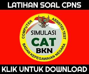 DOWNLOAD SOAL CPNS 2017 PDF CAT KUNCI JAWABAN BOCORAN TES SKD